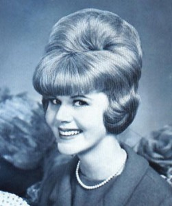 This is a bouffant hairstyle